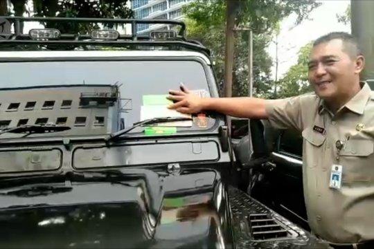 Razia PKB sisir kendaraan PNS Kantor Wali Kota Jakbar