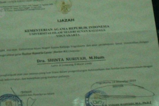 UIN Sunan Kalijaga berikan gelar Doktor HC kepada Sinta Nuriyah