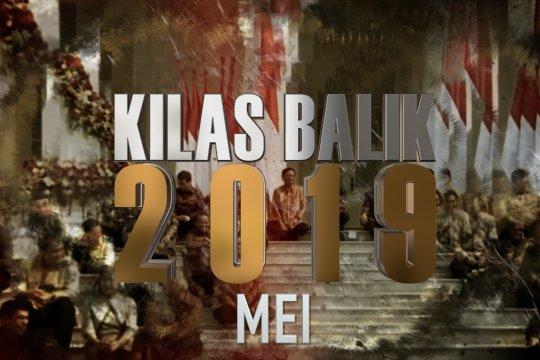 KILAS BALIK 2019 - MEI: RI jadi Presiden DK PBB, terpilihnya kembali Jokowi