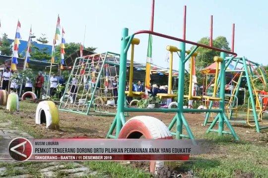 Pemkot Tangerang dorong ortu pilihkan permainan anak yang edukatif