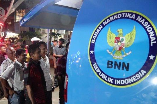 Polda Aceh bersama BNN Aceh sidak dan tes urin sopir bus