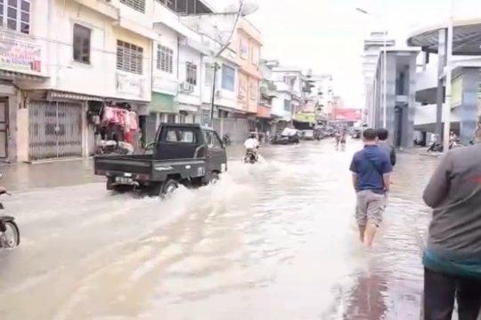 Ribuan rumah terendam Banjir di Kota Tebing Tinggi