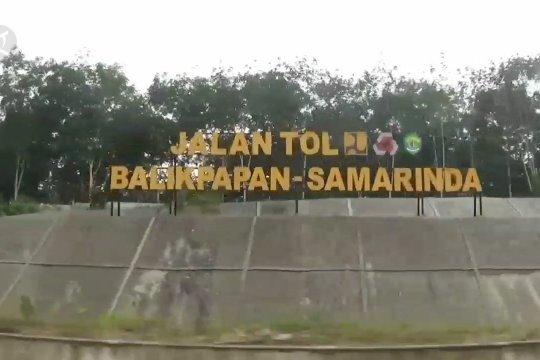Tol Balikpapan-Samarinda diuji coba untuk umum