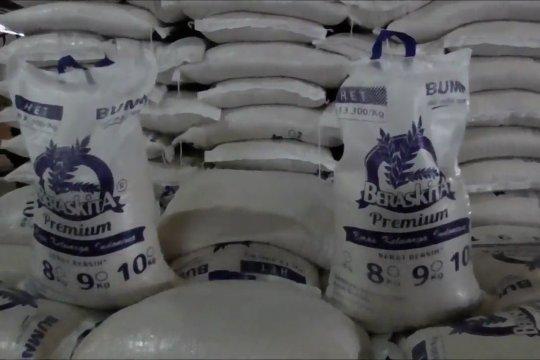 20 ribu ton beras Bulog potensi dibuang karena alih program