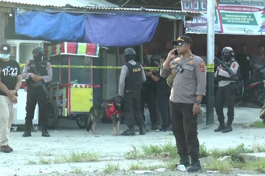7 terduga teroris yang ditangkap di Papua telah dibawa ke Jakarta