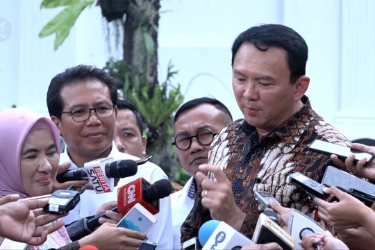 Ahok temui Presiden Jokowi di Istana