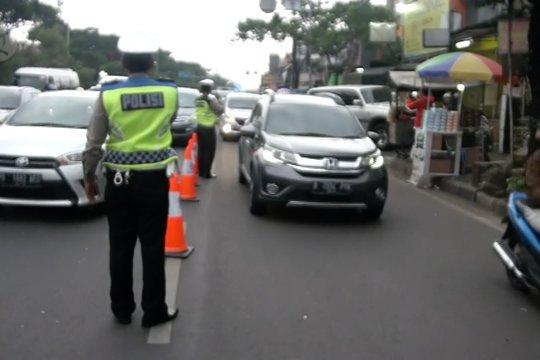 Kanalisasi jalur di jalan Pasteur Bandung guna urai kemacetan