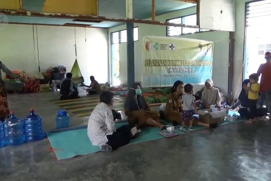 Korban banjir Sigi mulai terserang penyakit gatal