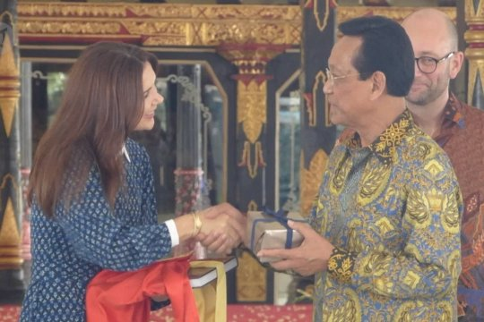 Putri Mahkota Denmark kunjungi Keraton Yogyakarta