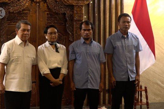 Dua WNI sandera Abu Sayyaf pulang ke Indonesia