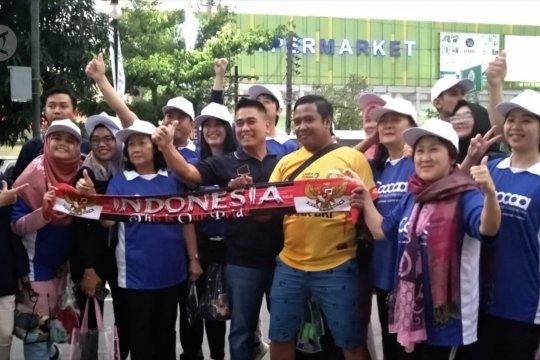 Dukung Timnas, Wakil Wali Kota Bandung bawa Bobotoh ke Manila