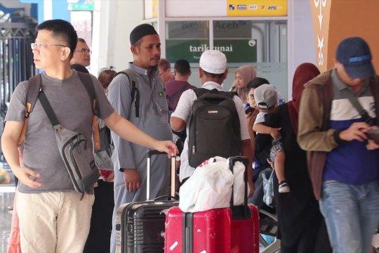 Jumlah penumpang di pelabuhan Ulee Lheue meningkat hingga 50%