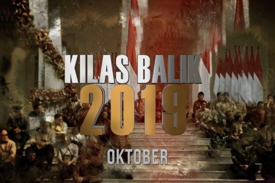KILAS BALIK 2019 - OKTOBER: Pelantikan Presiden Jokowi, dan RI terpilih jadi tuan rumah Piala Dunia U-20