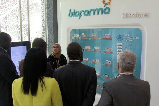 Biofarma transfer ilmu ke Senegal terkait produksi vaksin