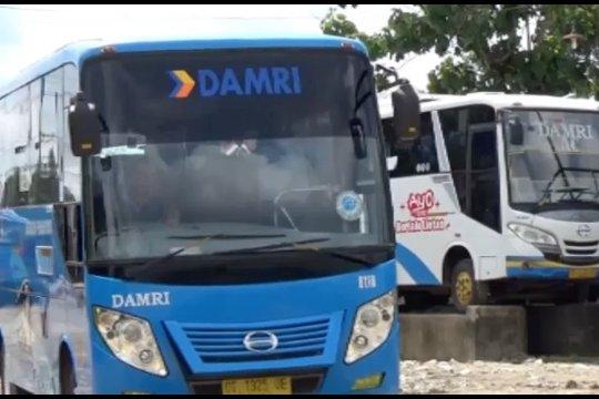 Intensifkan ramcek, Damri siapkan 25 armada bus angkutan Nataru