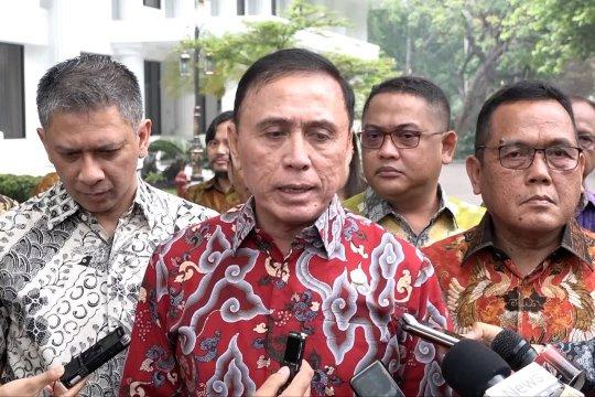 Iwan Bule laporkan persiapan Piala Dunia U-20 ke Jokowi