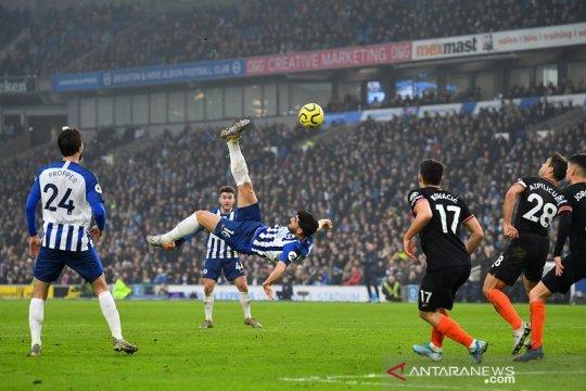 Gol spektakuler Brighton batalkan kemenangan Chelsea