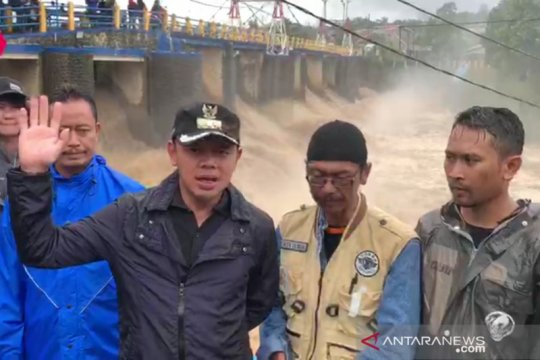Wali Kota Bogor inspeksi Katulampa, ingatkan warga antisipasi bencana