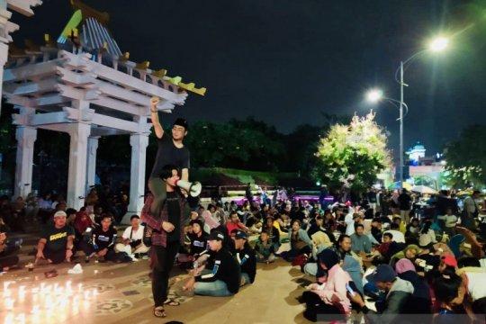 Kaukus Pemuda Surabaya memulai 2020 dengan doa lintas agama