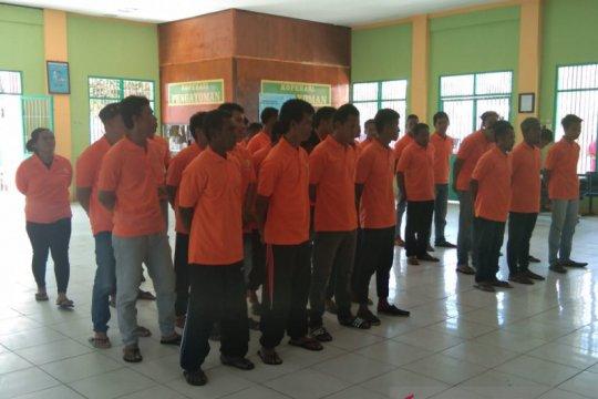 Lapas Nunukan bina 25 napi WNA kasus narkoba