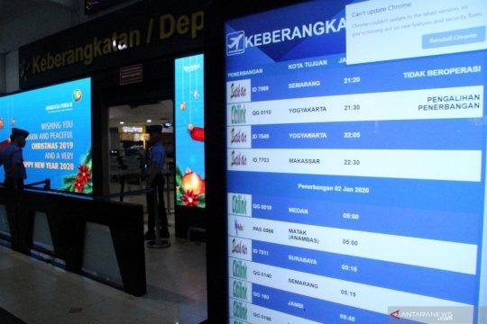 Bandara Halim banjir, penumpang bisa kembalikan uang tiket 100 persen