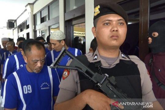 Kasus peredaran narkoba di Sukabumi melonjak