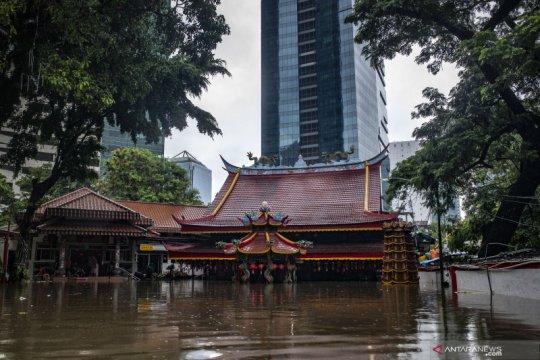 Round-Up - Awal tahun 2020, banjir sapa warga Jakarta
