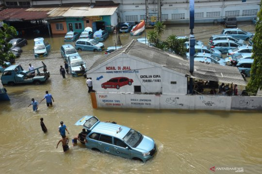 Perubahan iklim tingkatkan risiko curah hujan ekstrem