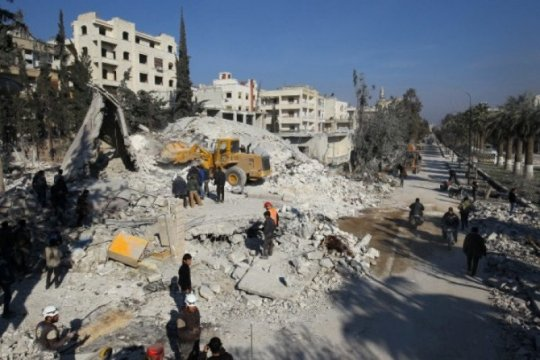 Turki, Rusia bahas pembentukan zona aman di Idlib Suriah