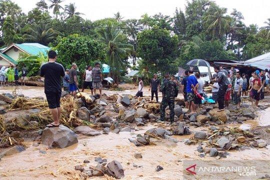 Banjir bandang mengakibatkan satu orang meninggal di Sangihe