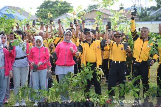 Polda Kalimantan Selatan hijaukan lingkungan dengan 30 ribu pohon