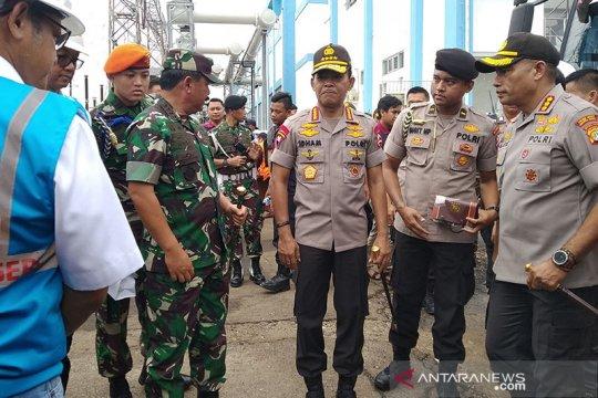 Panglima TNI-Kapolri tinjau Gardu Induk PLN Kembangan