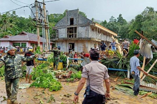 BSG bantu korban banjir bandang Sangihe