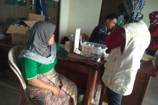 Petugas medis posko pengungsian kekurangan obat-obatan