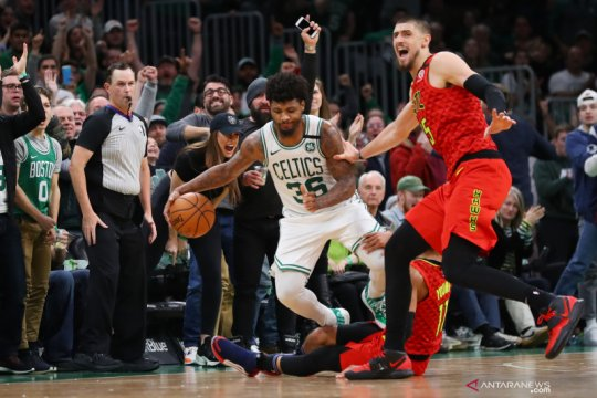 Guard Celtics Smart 'bebas corona', 10 hari setelah dites positif