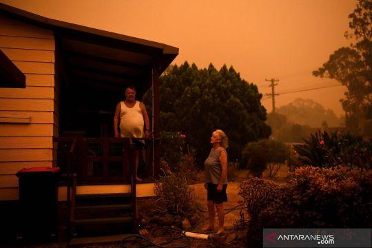 Kebakaran Australia mulai mereda, petugas manfaatkan untuk istirahat