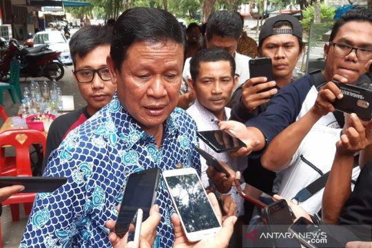 Isdianto minta izin kepada jurnalis bertarung pada Pilkada Kepri