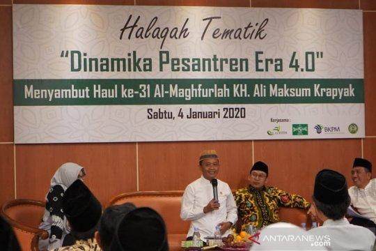 Bahlil dorong semangat kewirausahaan di pesantren Yogyakarta