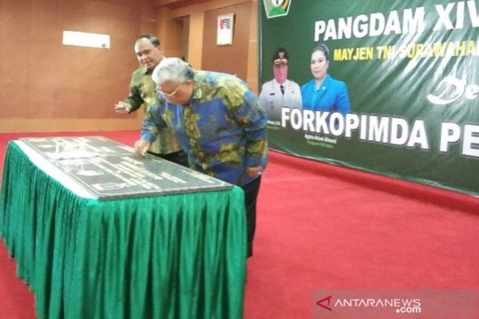 Pemprov Sultra hibahkan 45 hektare tanah ke Korem 143/HO