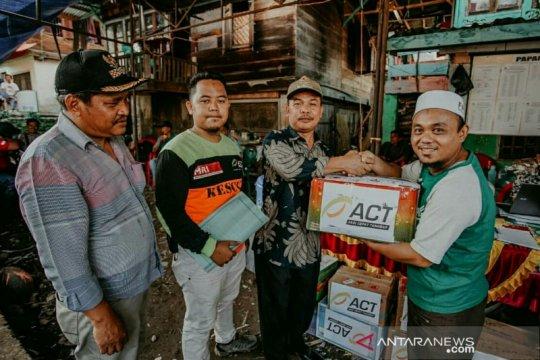 ACT Sumsel salurkan berbagai bantuan korban banjir Lahat