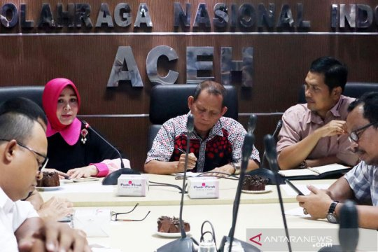 KONI Aceh minta Anggota DPR kawal persiapan PON 2024