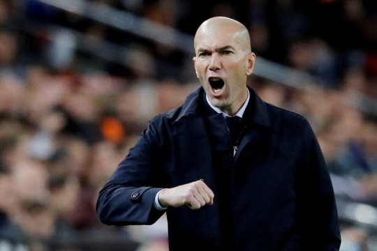 Kemenangan awal tahun membuat Zidane yakin Madrid juara
