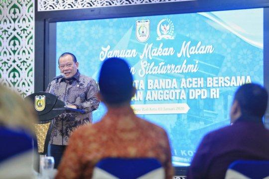 Pembangunan di Banda Aceh setelah 15 tahun tsunami diapresiasi DPD