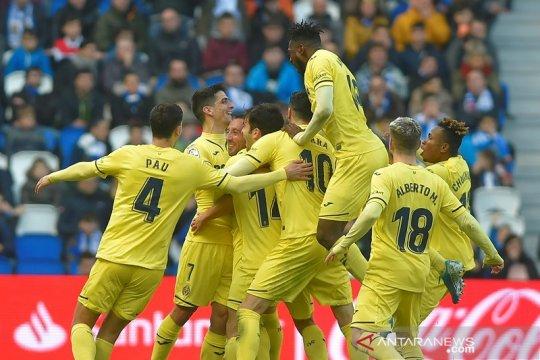 Villarreal satroni empat besar, Betis kembali ke jalur kemenangan