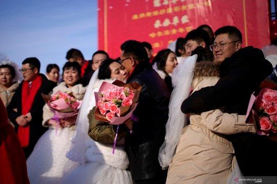 Pria Shanghai nekat curi speaker guna hindari kejaran pacar