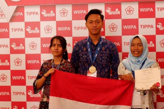 Tiga mahasiswa Unud raih medali emas di Taiwan