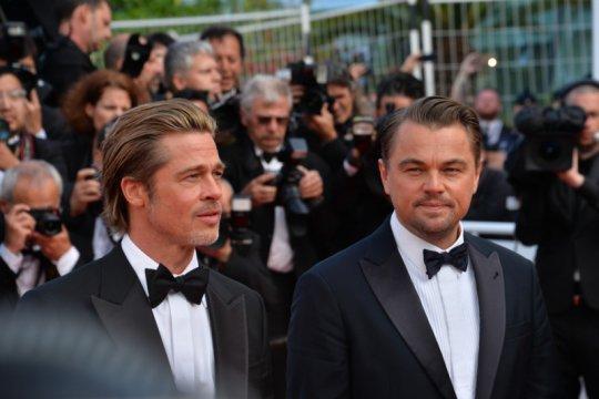 "Leonardo DiCaprio dan Brad Pitt ""nyambung"" di lokasi syuting"