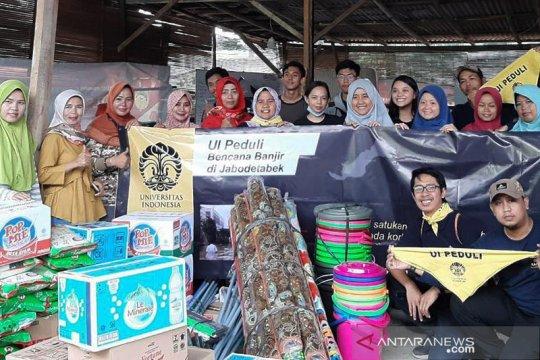 UI Peduli kerahkan relawan bantu korban banjir Jabodetabek