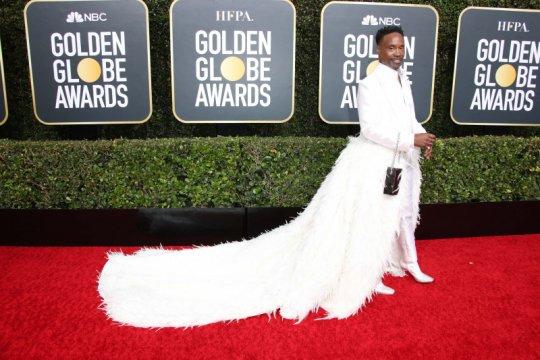 Parade fesyen di Golden Globe 2020 Billy Porter hingga Jennifer Lopez