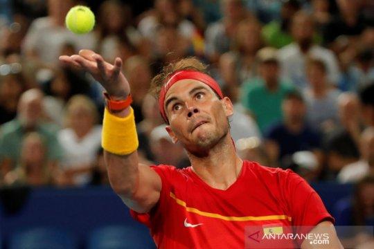 Spanyol tak terhentikan dengan puncaki klasemen Grup B ATP Cup